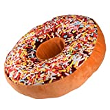 Decorie New Design Soft Plush Lovely Doughnut Shaped Cushion Pillow (Style B)