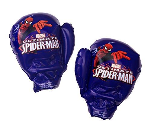 Spiderman 209910–Guantes de boxeo hinchables 40cm niño, azul