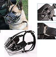 takestop Muselière Taille L XL métal grand chien chiens Toilettage réglable pour anti-abbaio Mors sécurité