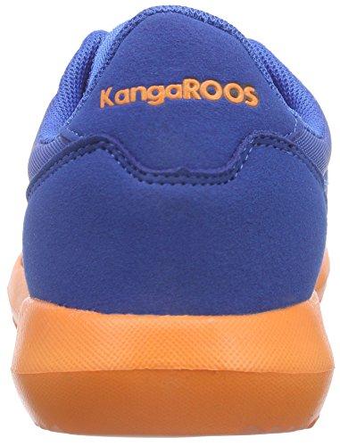 KangaROOS - K-x 2222, Scarpe da ginnastica Unisex – Bambini Blu (Blau (royal blue/orange 476))