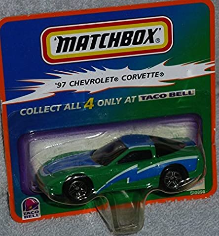 Matchbox Taco Bell Exclusive 97 Chevrolet Corvette by Matchbox