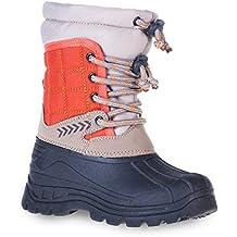 SFO - Botas de nieve chica Unisex, para niños para chico