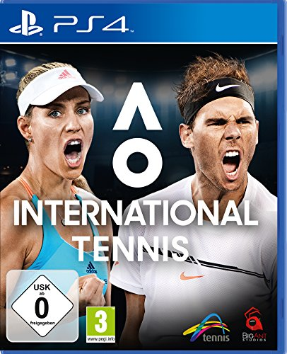 AO International Tennis [Playstation 4]