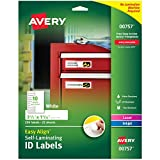 "Best Avery Laminatings - Easy Align Self-Laminating ID Labels-1""X3.5"" 50/Pkg Review"