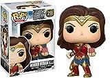 Funko Pop DC Justice League Wonder Woman Exclusive, Multicolor (14869-PX-1TF)