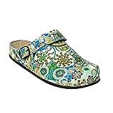 AWC Zapatos de Trabajo Mujer Unas Cama Deko Grün 37