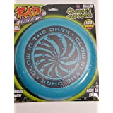 Rad Flyer Rad Flyer Glow In The Dark Blue Frisbee With Graphics Flying Disc Toy