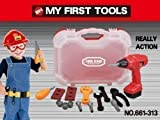 Best battery king Drills - Kidoloop Kids Toy Tool Kit box Case Screwdriver Review