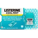Listerine Cool Mint Mouth Freshener Strips, 24 Strips [Pack Of 2]