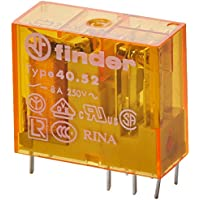 Finder serie 40 - Rele mini reticulado 5mm 2 conmutado 8a 230vac