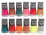 #7: Makeup Mania Exclusive Nail Polish Set of 12 Pcs (Multicolor Set # 75)