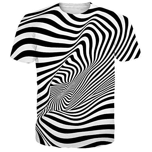 Druck Tee (NEWISTAR Jungs 3D Druck Sommer T Shirts Kurzarm T-Shirts Top Tees)