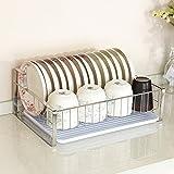 Scaffali da cucina Mensola in acciaio inox 304 Landing Singolo strato Portapiatti Forniture per pareti Contenitori per cucina Ripiano per piatti Porta spezie per cucina (dimensioni : 1)