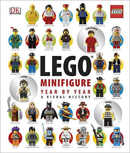 LEGO Minifigure Year by Year A Visual History: With 3 Minifigures (Dk Lego)