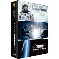 Interstellar + Gravity + 2001, L'Odyssée de l'Espace - Voyage dans l'Espace - Coffret DVD