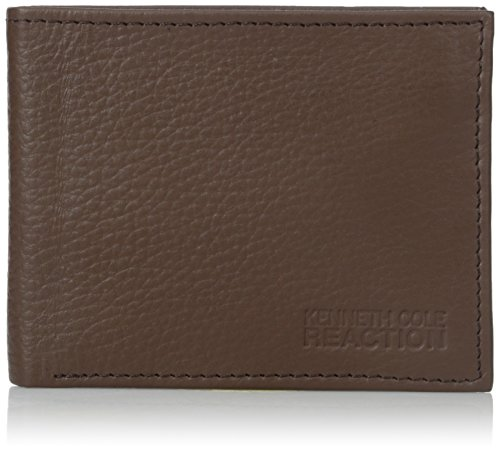 kenneth-cole-reaction-herren-herren-geldborse-gr-einheitsgrosse-braun
