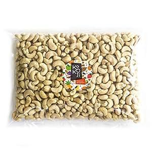 Noix de Cajou BIO décortiquée 1kg - Format économique Vrac - Non grillée - Non salée