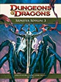 Monster Manual 3: A 4th Edition D&d Core Rulebook (Dungeons & Dragons)