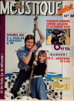 MOUSTIQUE JUNIOR [No 48] - VINCENT PERROT - CERISE LECLERC ET LE ROBOT SICO.