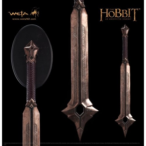 WETA Collectibles - Le Hobbit réplique 1/1 masse d'arme de Balin 105 cm