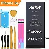 ARKFU Batteria per iPhone 6S Alta Capacità 2150mAh, Capacità 28% Maggiore, 2019 Nuova Batteria di Ricambio per iPhone 6s con Kit Sostituzione e Adesivi