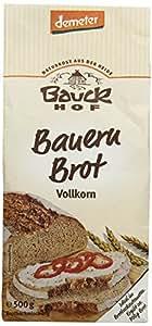 Bauckhof Vollkorn-Bauernbrot-Backmischung (500 g) - Bio