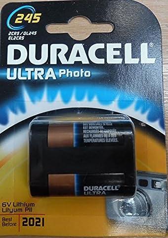 DURACELL Pile photo Lithium Ultra DL 245 A blister de 1
