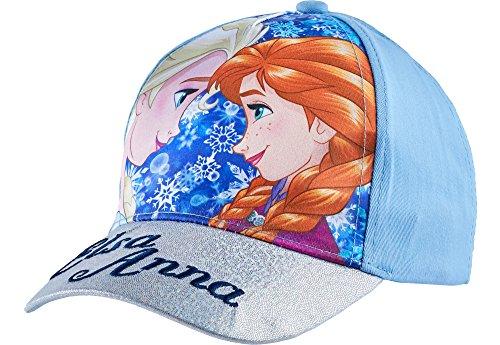 Frozen cappello con visiera per ragazza qe4011 (blu (qe4002), 54)
