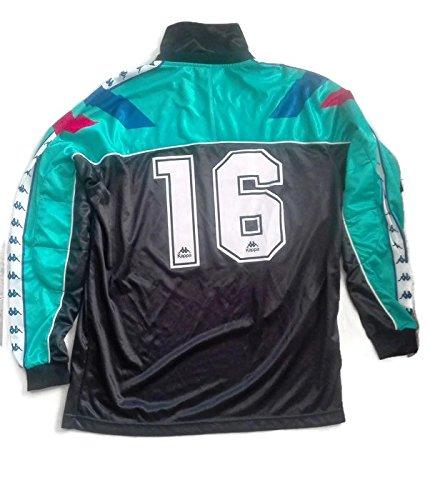 Camiseta Barça FCB Kappa Vintage con protección nº16 Verde Talla XL