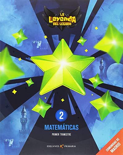 Proyecto: La leyenda del Legado. Matemáticas 2. Comunidad de Madrid. Trimestres