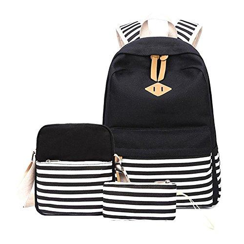 Schulrucksack Set Schulranzen Schultasche Sports Rucksack Freizeitrucksack Daypacks Backpack für Mädchen Jungen & Kinder Damen Herren Jugendliche mit der Großen Kapazität By Seasaleshop