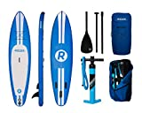 Aufblasbares iRocker-Paddleboard, 304 cm (15,2 cm dick), SUP-Paket – 2 JAHRE GARANTIE (Blau) - 6