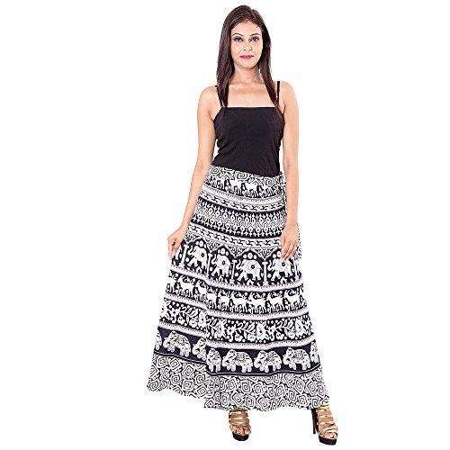 Shree Ram Impex Women's Skirt (SRISKIRT0020_)