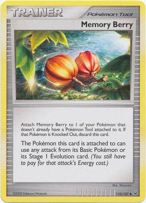 Pokemon - Memory Berry (110) - Platinum Platinum-berry