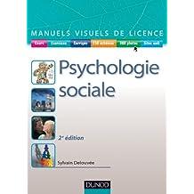 Manuel visuel de psychologie sociale - 2ème édition (Manuels visuels de Licence)