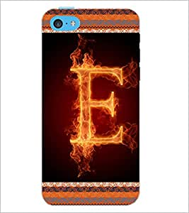 PrintDhaba GRANDbet E D-2532 Back Case Cover for APPLE IPHONE 5C (Multi-Coloured)