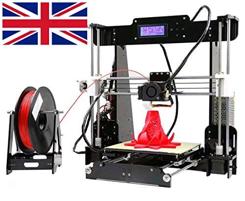 Anet a8, stampante da scrivania 3d, prusa i3fai da te, ad alta precisione