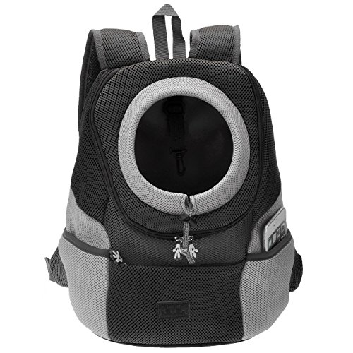 9eb8b4280b46 Ayliss Pet Carrier Front Pack Dog Cat Travel Bag Backpack Suitable for Pets  up to 7.5