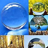 YJYdada Glaskristall Kugel Heilkugel Fotografie Requisiten Lensball Dekoration Geschenk, Sonstige, merhfarbig, 40 mm