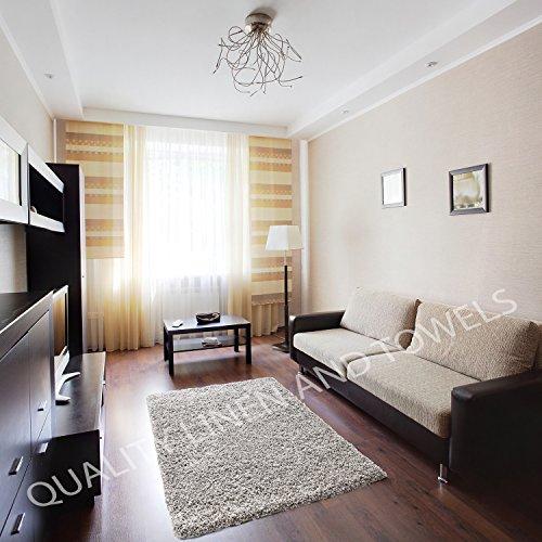 shaggy-rug-grey-silver-963-plain-5cm-thick-soft-pile-60cm-x-220cm-2ft-x-7ft-3-modern-100-berclon-twi