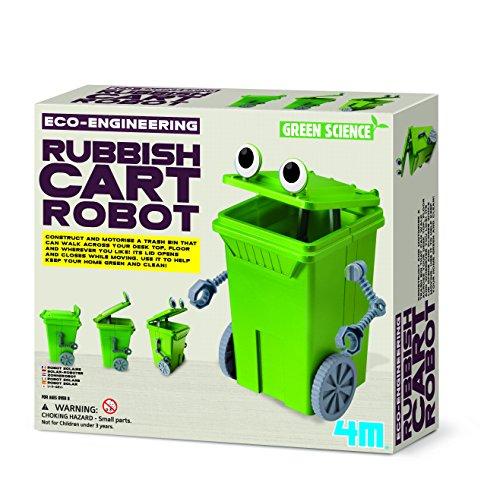 4m eco-engineering Müll Warenkorb Roboter Spielzeug