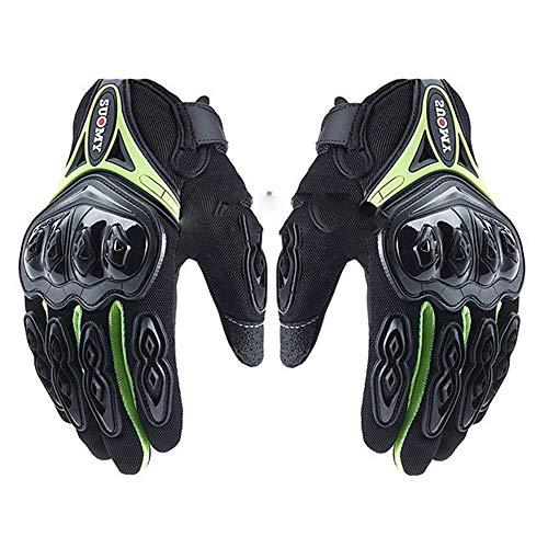 Guanti da moto touch screen guanti da motocross impermeabili da ciclismo in downhill in pelle per il regalo di compleanno