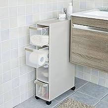 Petit meuble 20 cm de largeur - Meuble de rangement wc ikea ...