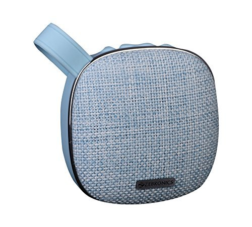 Zebronics Compium Portable Bluetooth Wireless Speaker with Built in FM/Call function (Assorted Colour)