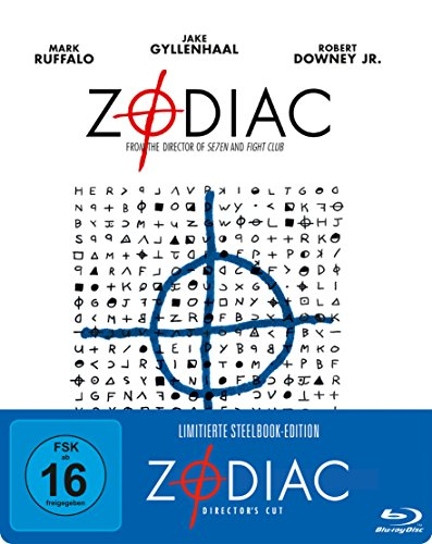 Zodiac - Die Spur des Killers Steelbook (exklusiv bei Amazon.de) [Blu-ray] [Limited Edition] [Director's Cut]