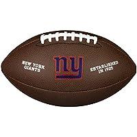 New York Giants NFL Composite Wilson Logo Football by Wilson