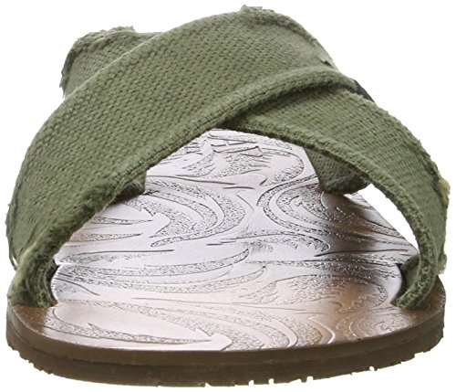 Replay Herren Baltic Sandalen Grün (MIL Green)