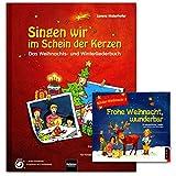 Canta nel segno delle candele – libro, CD – un entusiasmante libro di canzoni natalizie e invernali – con 177 canzoni, canzoni, Raps, Kanons etc – Helbling Verlag 9783850615655 9783850618724