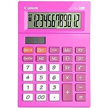 Canon AS-120V - Calculadora básica, color rosa