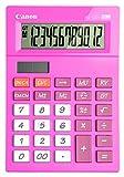 Canon 409843 Desktop-Taschenrechner AS-120, 12-stellig, rosa